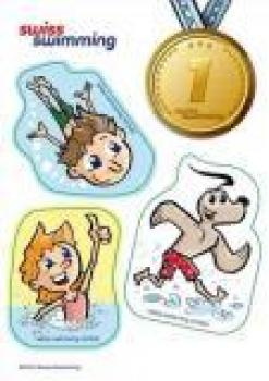 Abzeichen Swiss Swimming Basic Level 1